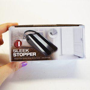 [3 for 15] Sleek Silver Door Stopper